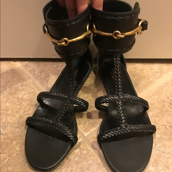 3acc26687cba Gucci Shoes - Gucci women s Gladiator Sandal with Horsebit logo